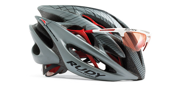 Sterling™ cycling helmet eyewear dock