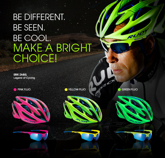 Sterling™ fluo colours will increase your visibility