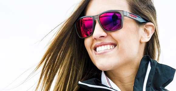 Rudy Project Spinhawk 2014 collection girl lifestyle sunglass