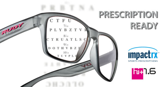 Spinhawk™ can be equipped with ImpactRx™ or Hi-Index+1.6 prescription lenses